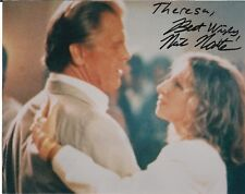 Nick Nolte  Autographed Color Photo  with Barbra Streisand