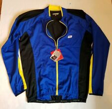 Bellweather Zone Long Sleeve Cycling Jersey Blue Mens XXL