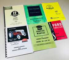 Heavy equipment manuals books for ford for sale ebay lot 6 ford 9n 2n tractor manual shop operators parts catalog service repair set fandeluxe Images