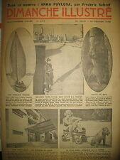 N° 677 REPORTAGES PHOTOS HISTOIRE ROMAN BD BICOT M. POCHE DIMANCHE ILLUSTRE 1936