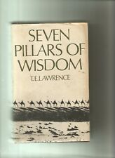 Seven Pillars Of Wisdom by T E Lawrence - BCA Edition (Hardback,1973)