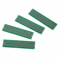 2pcs Double-Side Prototype FR-4 PCB Printed Circuit Board stripboard univer E6B3