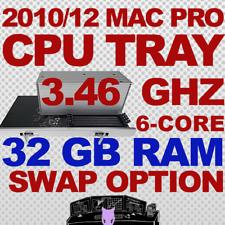 2010 2012 32GB + 6-Core 3.46 Ghz Mac Pro Upgrade CPU Tray 5,1 Swap/Return Option