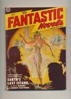 """Fantastic Novels July 1950 Vintage Pulp Magazine Very Good/Fine """"Trimmed"""""""