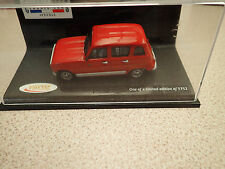 Ltd Edn Vitesse 1/43 - 34025 Renault 4 GTL Clan Red Ex Shop Stock Untouched