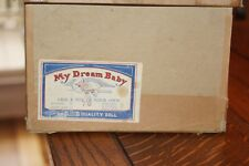Vintage Original Doll Box for large composition R & B Arranbee My Dream Baby