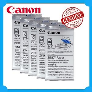 HP/Canon Genuine ZINK Sticky-Backed Photo Paper (50 Sheets)  for Sprocket