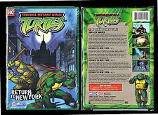 Teenage Mutant Ninja Turtles: Vol 7 - Return to New York (Brand New DVD, 2004)