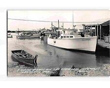 ST1920: FISHING BOATS MARATHON FL (C1950's L L Cook Co. #M1322 RPPC/postcard)