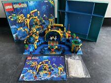 LEGO 6195 AQUAZONE BASE AQUANAUTS SYSTEM SET 100% COMPLETE C9 BOXED WITH MANUAL