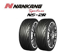 2x Nankang NS-2R - Track Day/Race/Road - 255/40 ZR17 98W - (180, STREET)