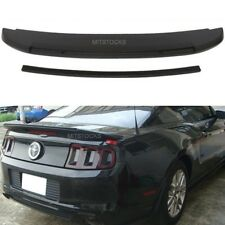 Fit 2010-2014 Ford Mustang Shelby V6 GT500 Style ADD-ON Trunk Spoiler Wing ABS