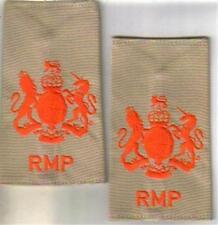 ROYAL MILITARY POLICE WO1 DESERT rank epaulettes