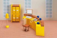 Puppenhausmöbel Krankenhaus REZEPTION Anmeldung Hospital Holz Biegepuppen NEU