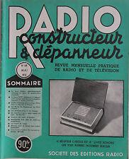 Radio Constructeur & Dépanneur n°68- 1951 : La polarisation Base du dépannage