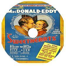 Sweethearts (1938) Jeanette MacDonald Nelson Eddy Frank Morgan Rare DVD