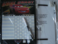 2x GOAL CHART DISNEY LIGHTNING MCQUEEN/THE CARS THINGS TO DO/CHORE/JOB MAGNETIC