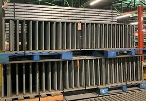 Manual Gravity Roller Box and Package Conveyor