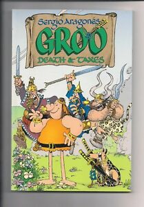 Groo Death & Taxes TP TPB Softcover (2002) 1st Printing Sergio Aragones New Con
