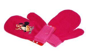 1 paire de moufle enfant, Minnie, 2 coloris aux choix.