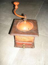 Sehr alte antik Kaffeemühle mechanisch Handkaffeemühle coffee grinder groß HOLZ