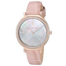 Michael Kors Ladies' Cinthia Leather Watch MK2663