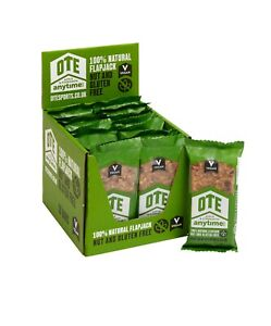 OTE Sports Anytime Bar (16 x 62g) - 100% Natural, Nut & Gluten Free Energy Bars