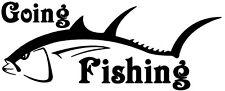 Andare a pesca, carpa, mare, pesca a mosca, auto, furgone, barche, Decalcomania, Adesivo