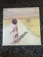 Taking Back Sunday WHERE YOU WANT TO BE 1St press Blue WAX NM UNPLAYED OOP