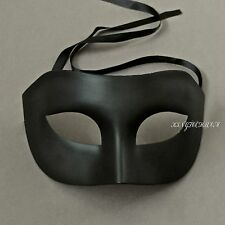 Venetian Unisex Black Masquerade Prom Costume Party Mask