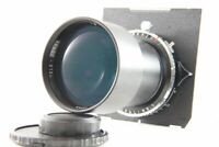 Exc TELE-CONGO 400mm f/8 Large Format Lens w/COPAL 1 Shutter from Japan #1584