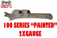 """to suit Toyota Landcruiser 100 series LHD DOUBLE PILLAR POD """"NEW""""  PAINTED BEIGE"""
