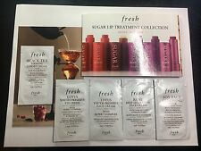 Lot of 6 Fresh Skincare Samples:Rose, Soy, Black Tea, Lotus, Sugar LipTreatment