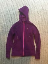 EUC Spyder Girls Purple/Pink jacket size xs
