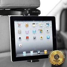 iPad mini/Air/Pro Galaxy Tab Tablet Headrest One Touch Mount Holder[Obliq] 7-11""