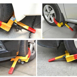 wheel lock anti theft wheel clamp 4 Mobility scooter wheel chairs disabled