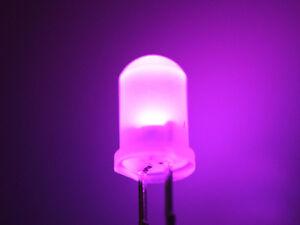 Ogeled LED Diode Leuchtmittel 3mm bis 5mm 10 100 1000 Stück Diffus Lampe Birne
