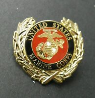 MARINE CORPS US USA LAPEL PIN BADGE 1.1 INCHES USMC MARINES