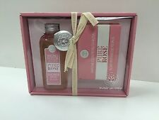Erbario Toscano 2 Piece Gift Set Women's Pure Rose 4.2oz Shower Gel+5oz Soap New