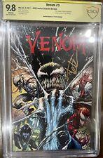 Venom 3 CGC 9.8 KRS Exclusive Signed By Tyler Kirkham Spider-Man 🕷