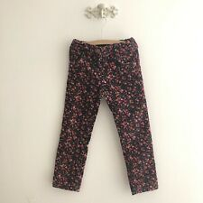 Girls NEXT Soft Ditsy Floral Corduroy Jeans * 4-5 *