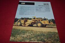 Caterpillar 627E Wheel Tractor Scraper Pan Dealer's Brochure DCPA6 ver4