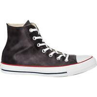 CONVERSE Women's SHEENWASH HI Black/White High Top Sneakers UK 6 / EU 39