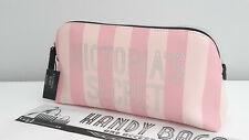 VICTORIA'S SECRET Signature Stripe Beauty Make up bag BNWT