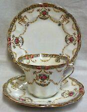 Vintage Art Nouveau Allertons 'Ryde' Trio Cup, Saucer & Side Plate