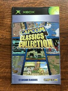 Capcom Classics Collection XBOX Instruction Manual Only