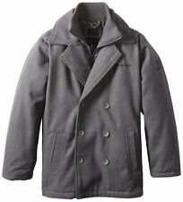 Calvin Klein Big Boys' Melton Jacket Winter coat