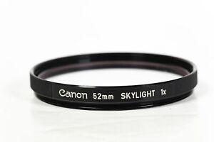 Canon 52mm Skylight  Camera filter