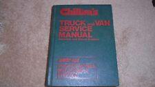 Chilton's Truck & Van Mechanics Service Manual, Gas + Diesel Engines 1973 -1980