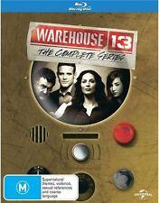 Warehouse 13 COMPLETE Season 1 2 3 4 5 (Box-Set) : NEW Blu-Ray